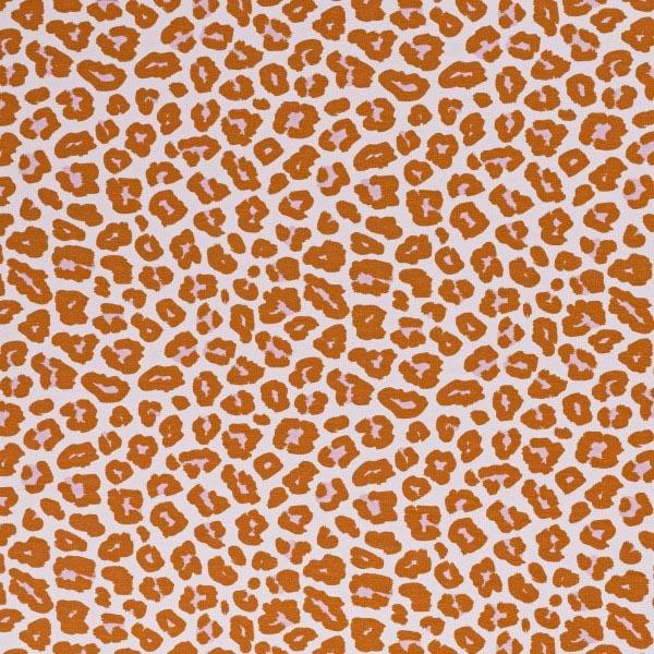 Swafing - Baumwolljersey - Leopardenmuster - Orange