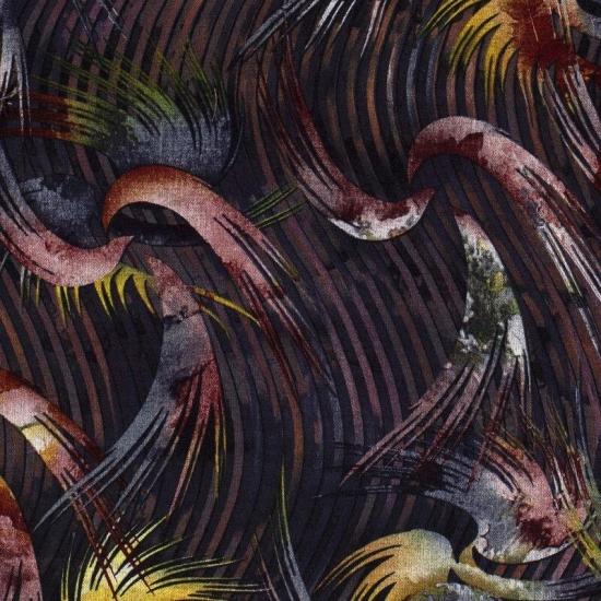 Viskosegemisch - bunte Schwingen - Marine
