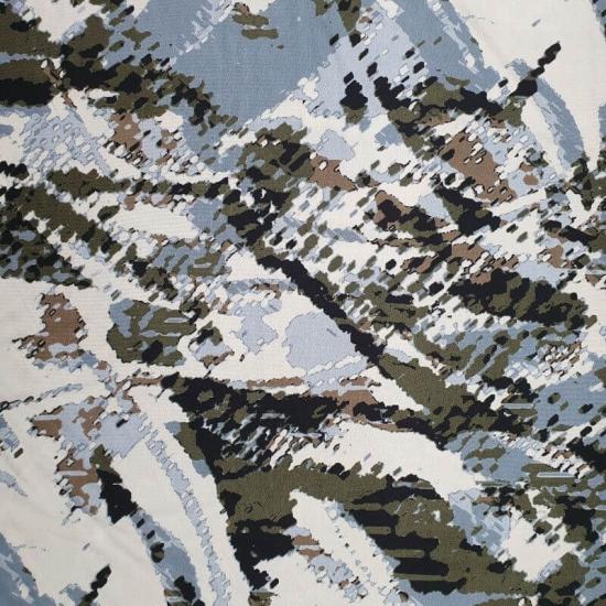 Viskosejersey - abstraktes Muster