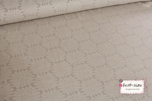 Jacquard Jersey `Ina´ Beige