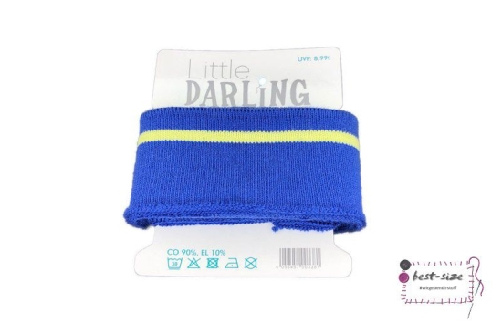 Little Darling - Cuff Bündchen - Blau