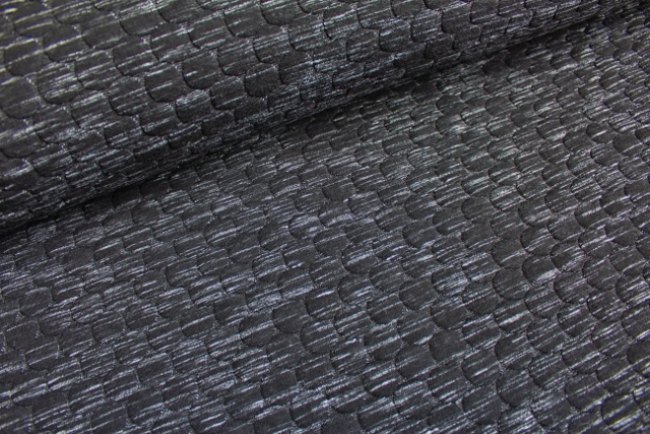 Quiltstoff `Bubble Black´