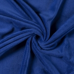 Wellnessfleece - Uni - Royalblau